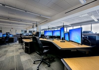 Russ Bassett - Commerical WOrkstations - Tech Heavy - Height Adjustable