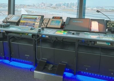 Russ Bassett - Air Traffic Control - Custom Tower Console Workstation