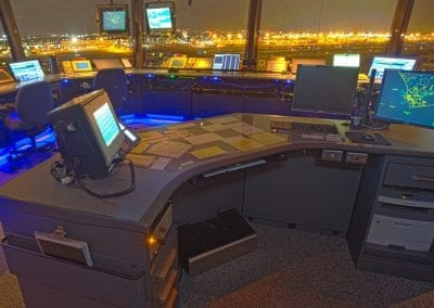 Russ Bassett - Air Traffic Control - Tower Console Workstation
