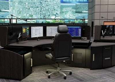 Russ Bassett - Transportation Control - Console Furniture