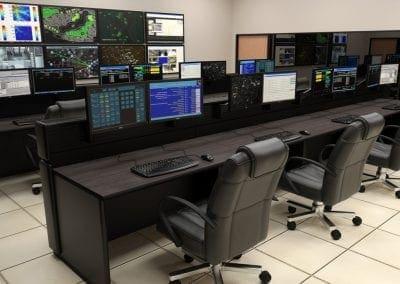 Russ Bassett Command and Control Furniture Hong Kong Air Port Authority
