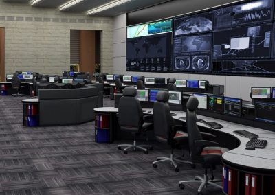 utility control and incident response console work stations russ bassett