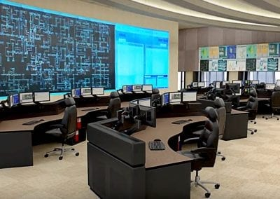 Utility Control and Operations Desks by Russ Bassett