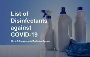 Link to EPA approved disinfectants