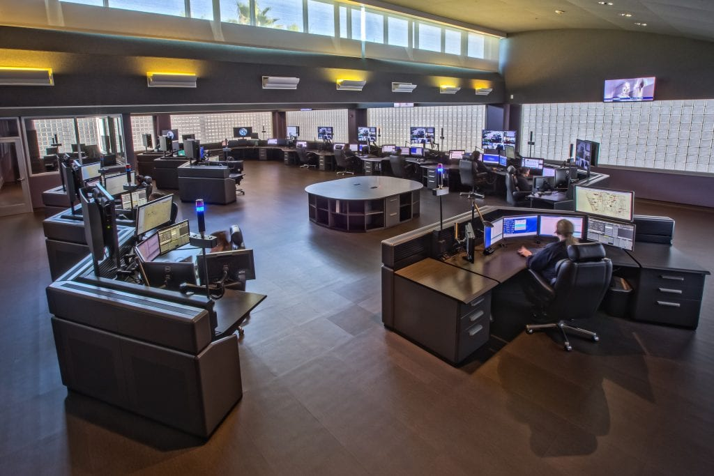 South Bay Communications 911 Dispatch Center design