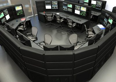 government military operations console workstations russ bassett