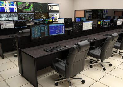 Consoles for Global Network Operations Control - Russ Bassett