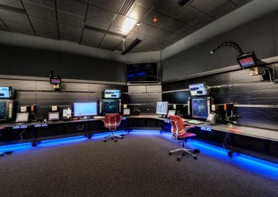 Air Traffic Control Consoles by Russ Basset