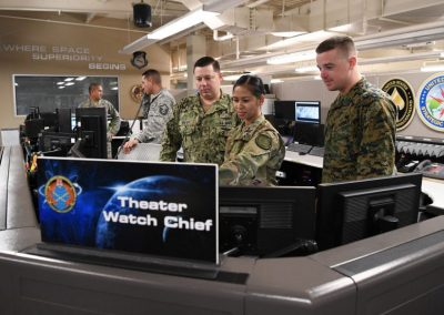 Military Defense Command and Control Operations