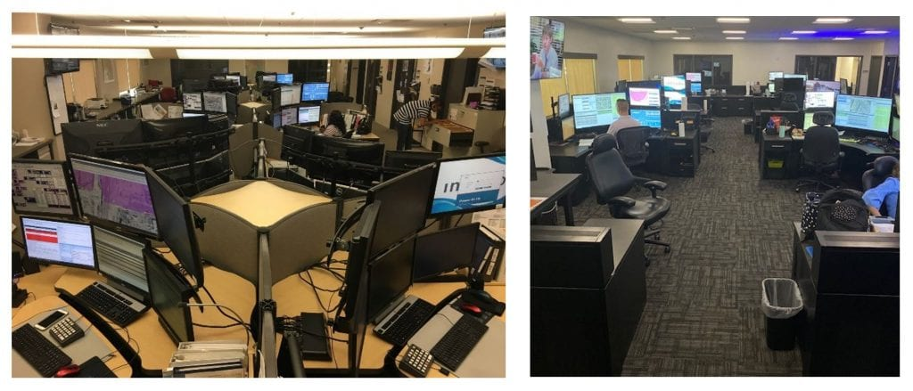 Peoria AZ police department dispatch before and after