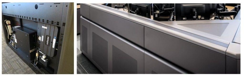 Yale University Public Safety Dispatch Console Technology Wall Russ Bassett