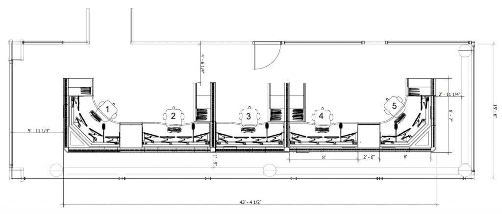 Yale University Campus Public Safety floor planfloor plan
