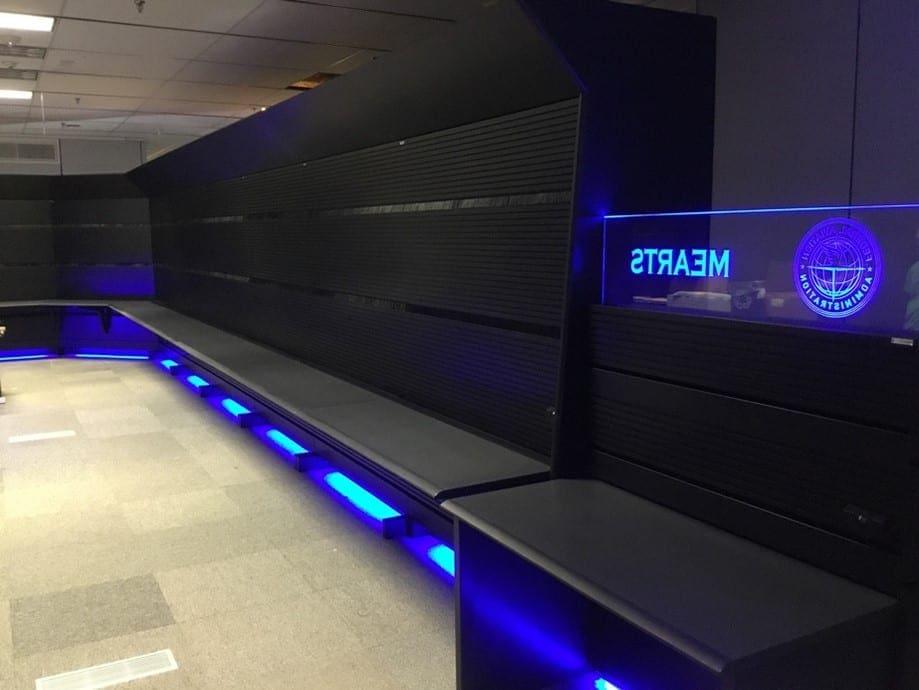 FAA ATC MEARTS lab console furniture Russ Bassett