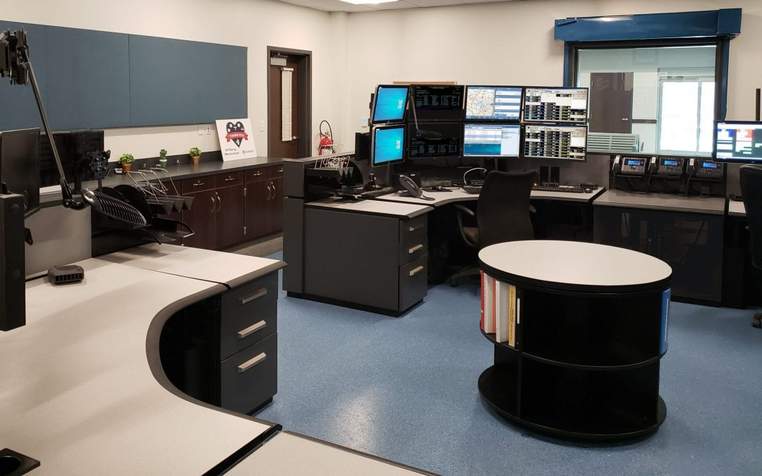 Dispatch Consoles Take Newtown ECC Into the Future - Russ Bassett